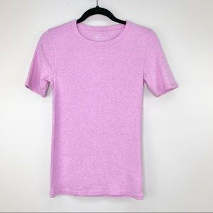 J.Crew Perfect Fit Tee In Pink Size S